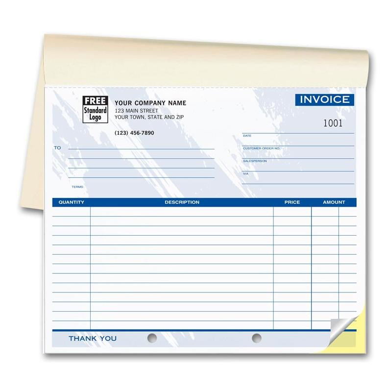 [Image: Personalised Invoice Book]