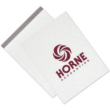 "[Image: Custom Printed Poly Mailers, Extra Large 19 x 24"", White]"
