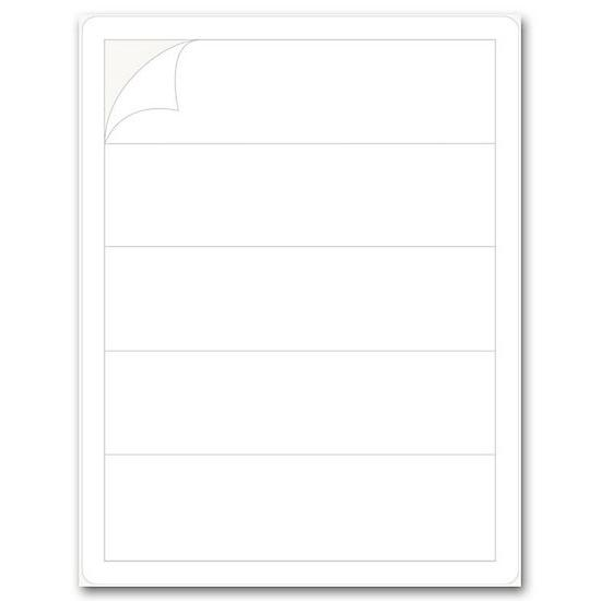 "[Image: Blank Self-adhesive Label Strip, 2"" Laser]"