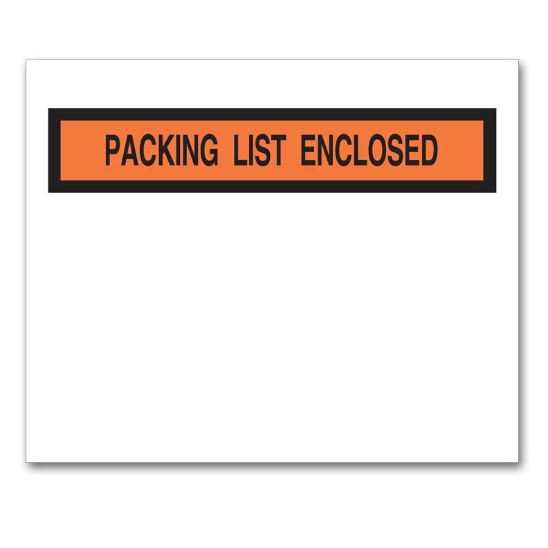 [Image: Packing List Envelope with Pressure Sensitive Backing]