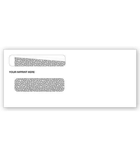 [Image: Double Window Envelope 8 5/8 X 3 5/8]