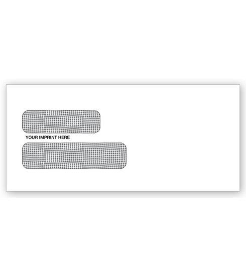 [Image: Double Window Confidential Envelope For Checks]
