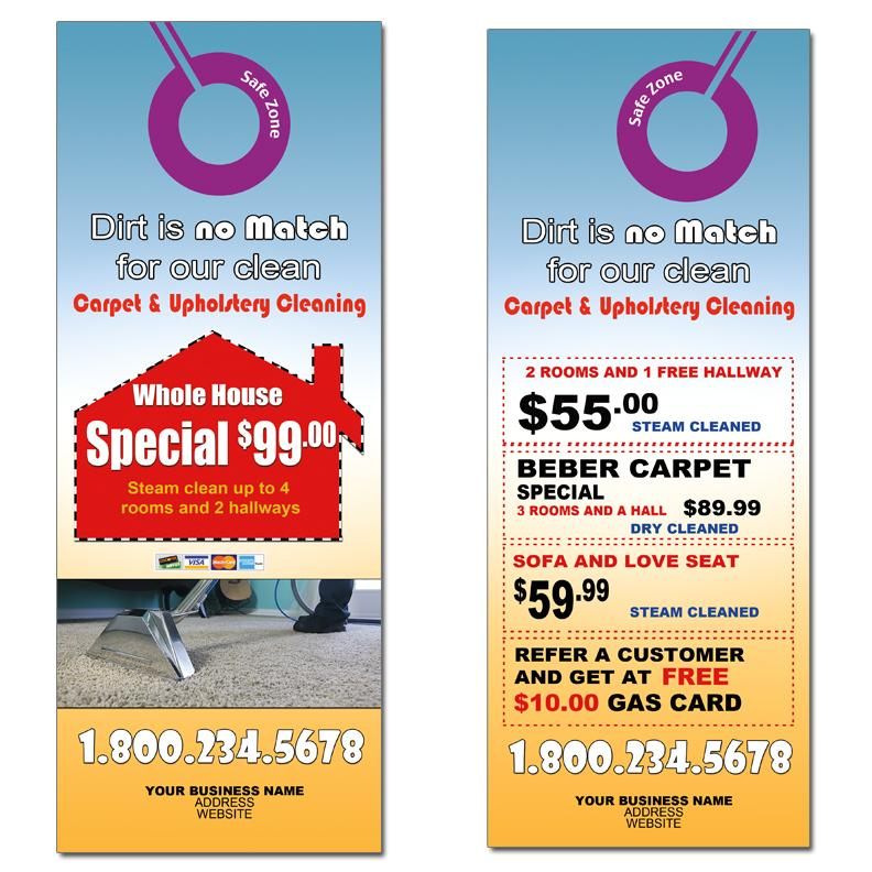 Custom Door Hangers Designed And Printed Martin Print ~ Promotional ...