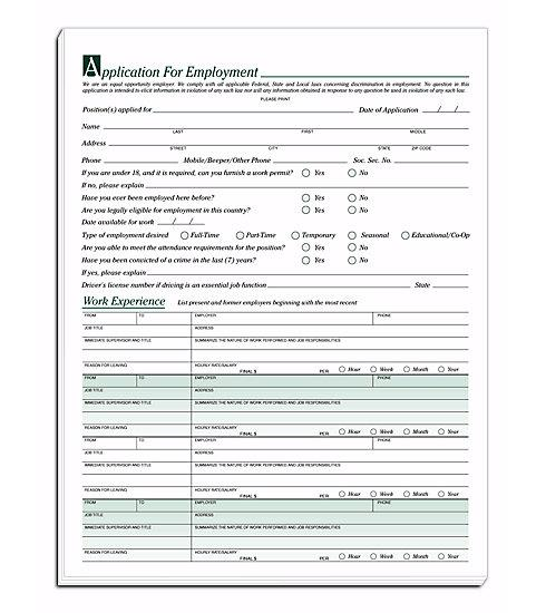 [Image: Employee Applications]