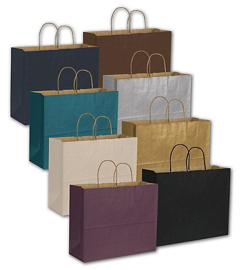 [Image: Multi Colored Kraft Paper Bags - Retail Store Supplies & Packaging]
