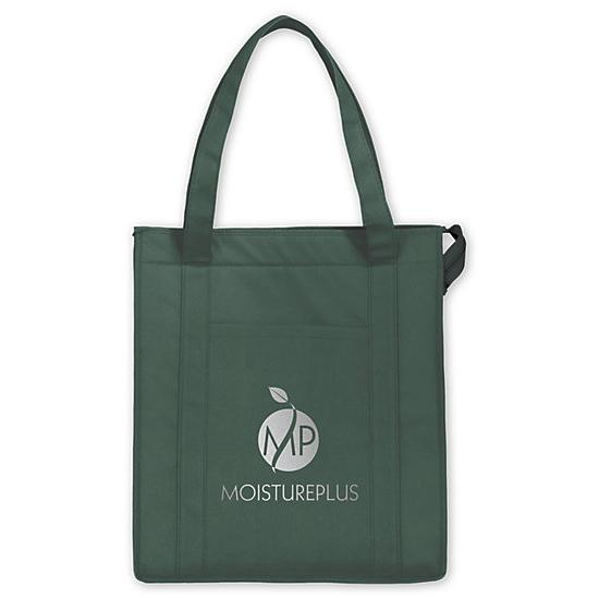 [Image: Insulated Grocery tote - Custom Printed]