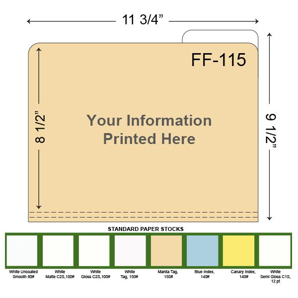 [Image: Custom Printed File Folders with a Right tab]