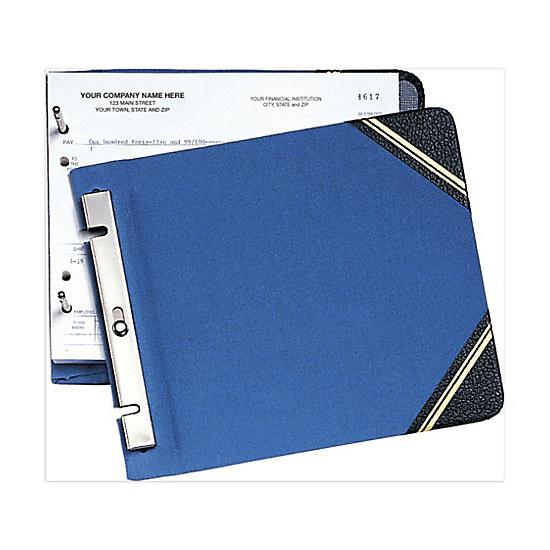 [Image: Two-Post Binder For Voucher Checks]