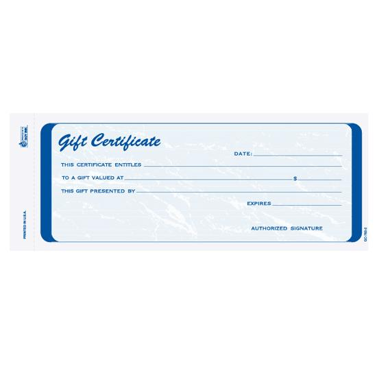 [Image: Custom Gift Certificates for Businesses]