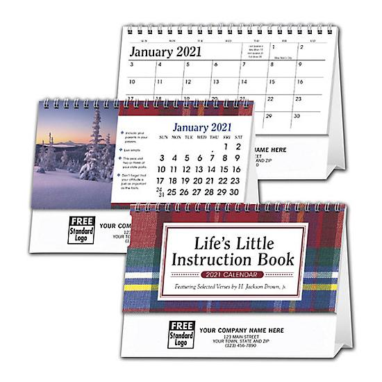 [Image: 2021 Life's Little Instructions Book Desk Calendar, Personalized & Custom Printed]