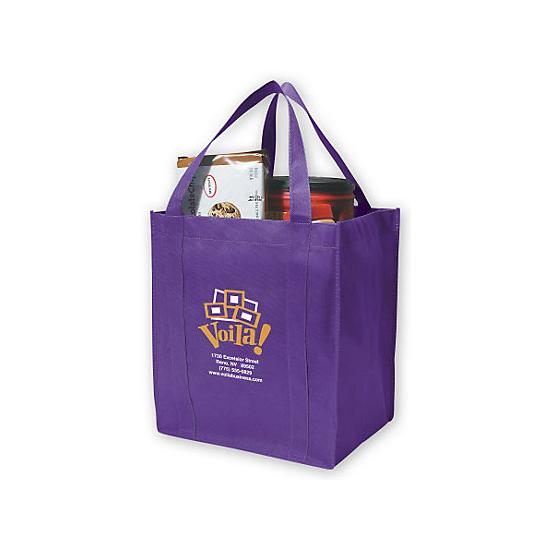 [Image: Grocery Shopper Tote - Custom Printed]