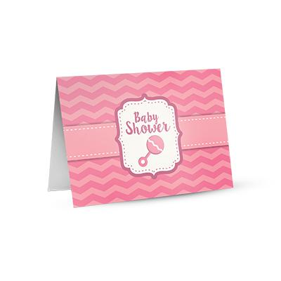[Image: 4 x 6 Custom Printed Greeting Cards - Folded Postcard]