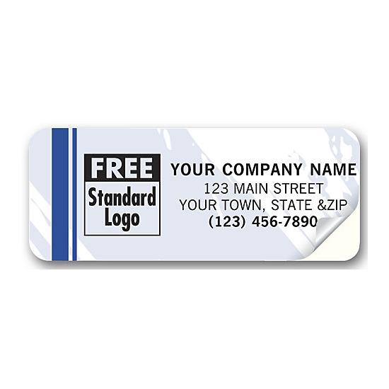 "[Image: Advertising Labels - Personalized, Package, Mailing, Sales, Service, 2 1/2 x 1"", Durable]"