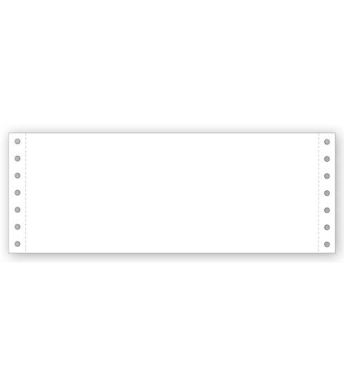 "[Image: 9 1/2 X 3 1/2"" Blank Continuous Stock Paper]"