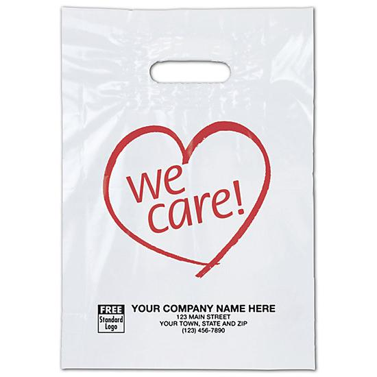 [Image: We Care Plastic Bags]