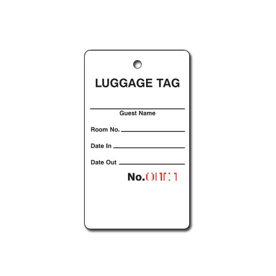[Image: Bag Identification Tags]