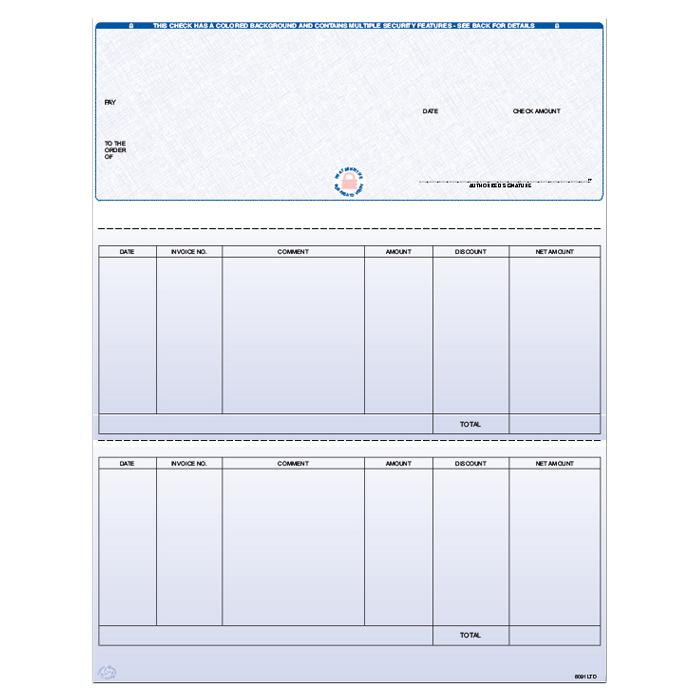 [Image: F8091LTD - Laser Accounts Payable Check]