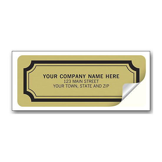 [Image: Gold Foil Stickers Embossed]