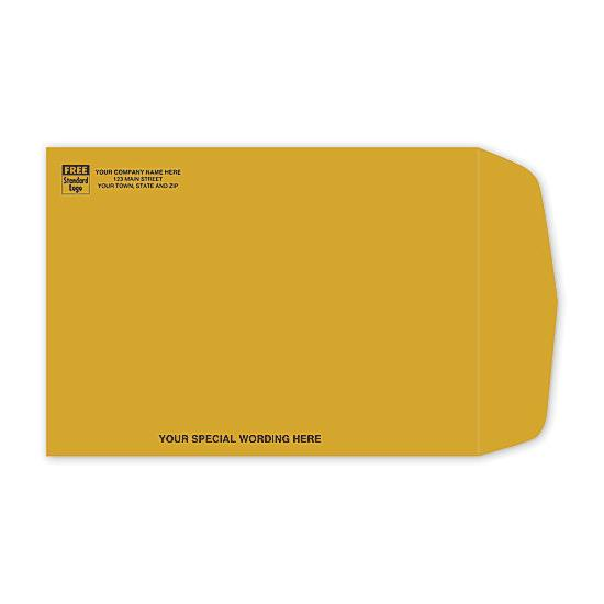 [Image: Brown Kraft Paper Mailing Envelope, Catalog Envelopes]