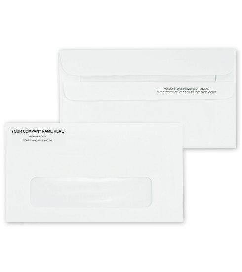 [Image: #6 Single Window Envelope, Self-Seal]