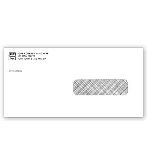 [Image: Single Window Confidential Envelope]