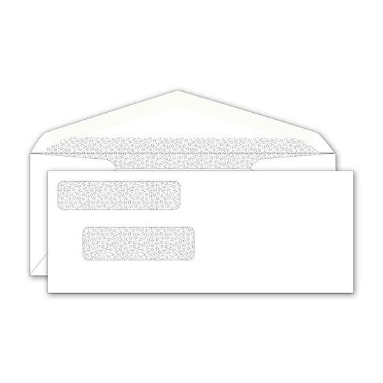 [Image: Double Window Check Envelope For Long Checks]