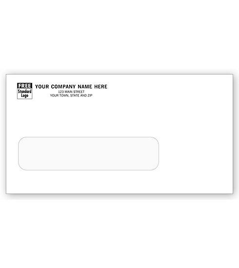 [Image: Single Window Envelope - With Large Window]