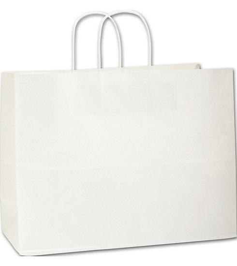 [Image: White Paper Shoppers Vogue Bags]