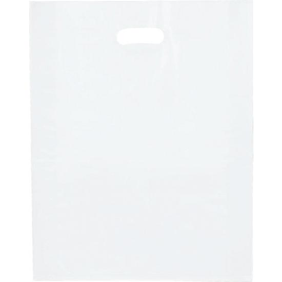 [Image: Clear Frosted High Density Merchandise Bags]