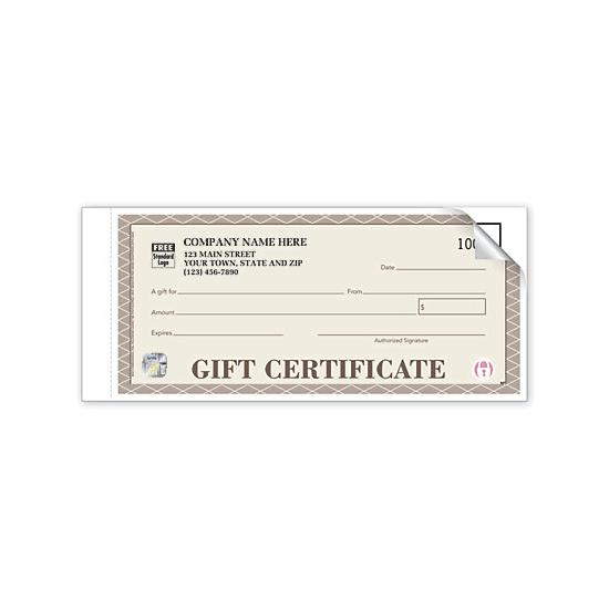 [Image: Custom Gift Certificates Numbered]