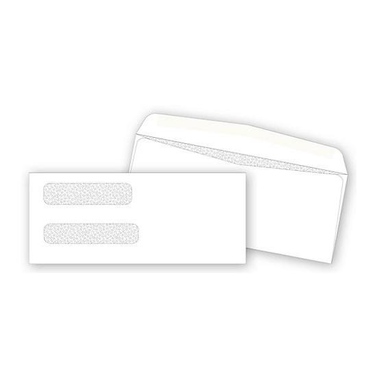 "[Image: Double Window Confidential Envelope 8 5/8 x 3 5/8""]"
