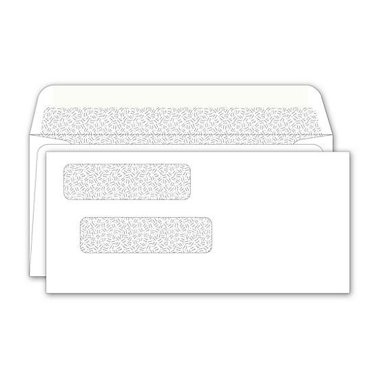 "[Image: Double Window Envelope 3 1/2 x 7 1/2""]"