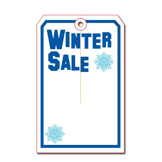 [Image: Winter Sale Tag ]