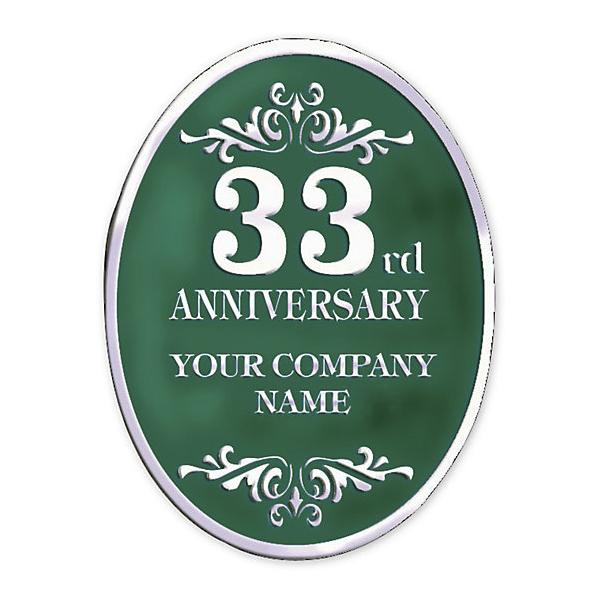 [Image: Business Anniversary Foil Stickers]