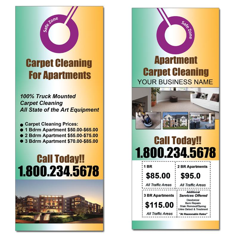 [Image: Carpet Cleaning Door Hangers For Apartments]