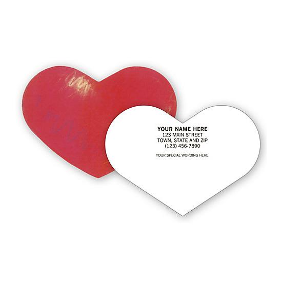 [Image: Heart Shaped Business Card]