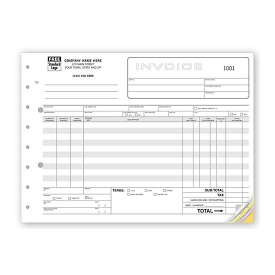 [Image: Classic, Wide Body Wholesalers Invoices]
