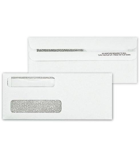 [Image: Double Window Envelope Self Seal for Checks]