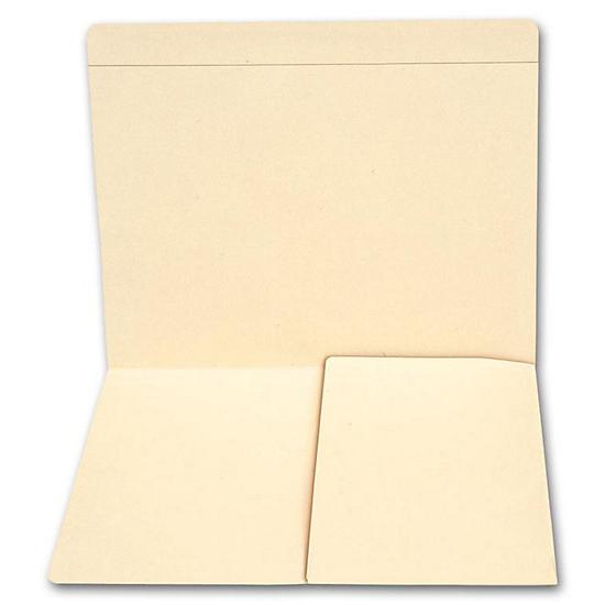 [Image: Top Tab Half Pocket Manila Folder, 11 Pt]
