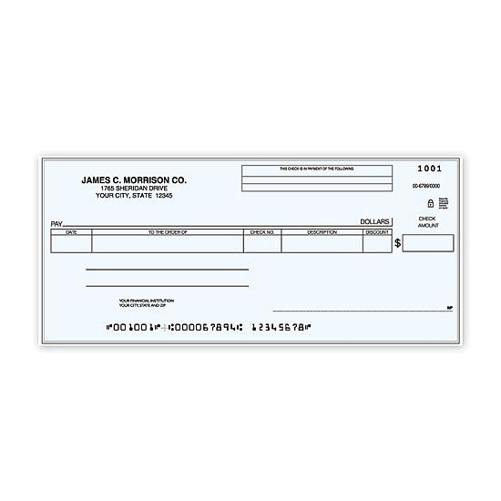 [Image: Cash Disbursement One Write Check]