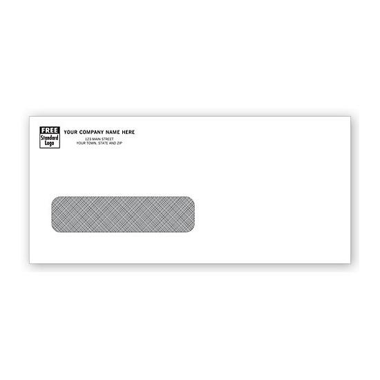 [Image: Single Window Confidential Envelope - Invoice Forms]