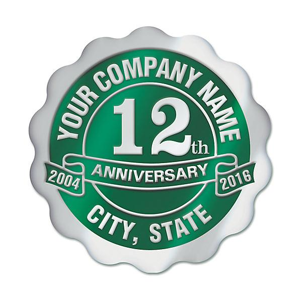 [Image: 10 Year Anniversary Stickers Business]