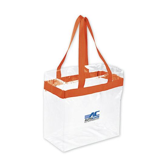 [Image: Game Day Clear Stadium Tote Bag - Personalized]