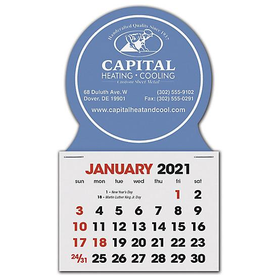 [Image: 2021 Stick Up Calendar Circle, Personalized & Custom Printed]