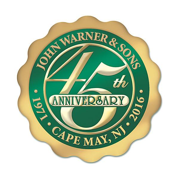 [Image: Personalized Anniversary Seal Rolls SE-10]