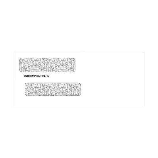 [Image: Double Window Confidential Check Envelopes 8 5/8 X 3 5/8]