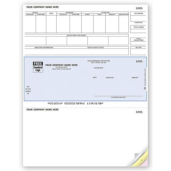 [Image: Laser Payroll Check, Compatible With Timberline]