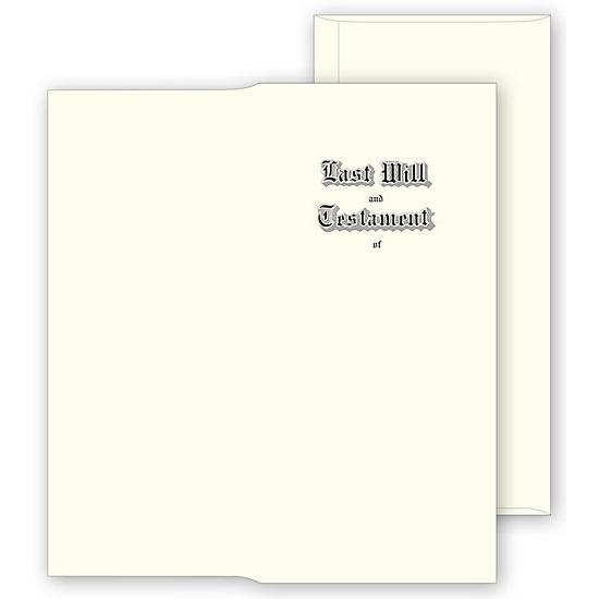 [Image: Will Envelopes, Engraved, White]