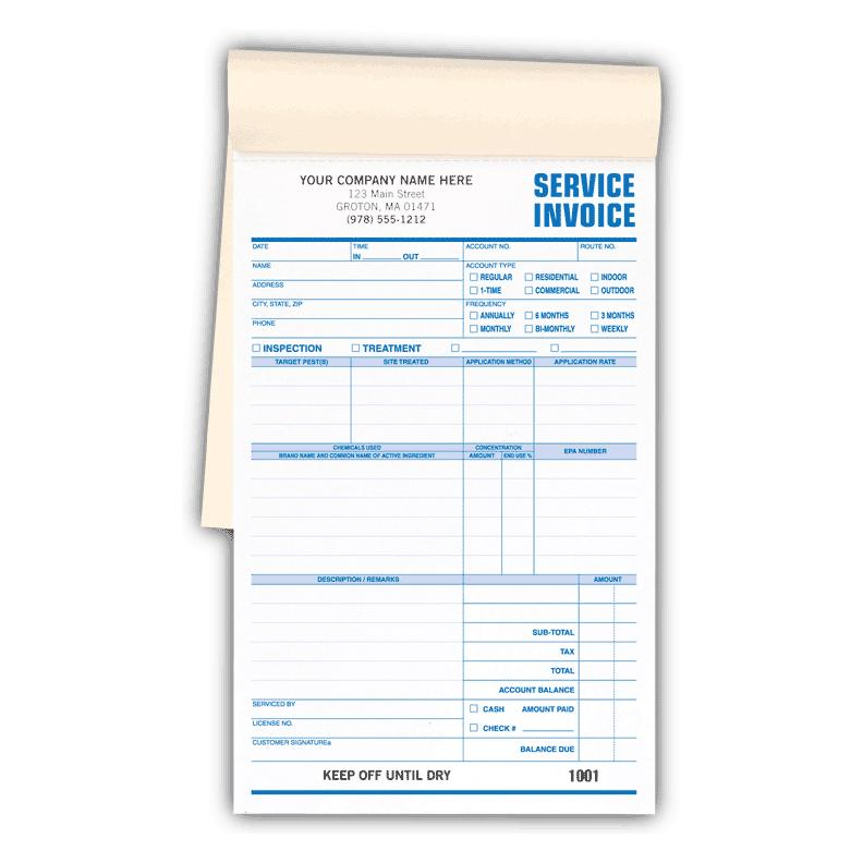 [Image: PEST CONTROL SERVICE INVOICES BOOKED]