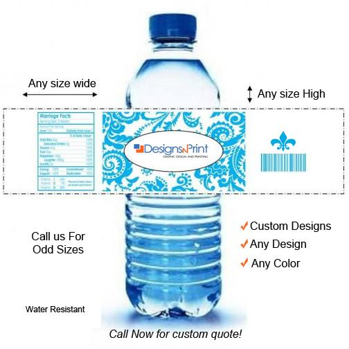 [Image: Custom Water Bottle Labels]